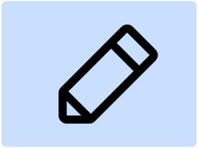 Edit dashboard icon
